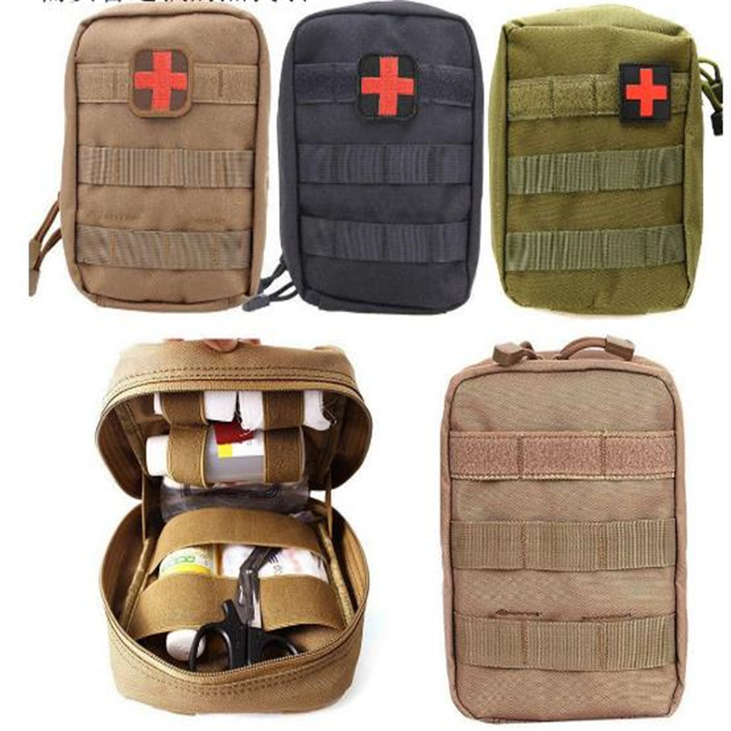 BOOCRE Game Accessories Backpacks Outdoor First Aid Kit Field Survival Climbing Rescue Package Tactical Medical Package