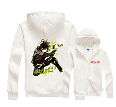 Seraph of the End Yoichi Saotome/ Yuichiro Hyakuya Owari no Seraph Cosplay costume hoodie jacket coat