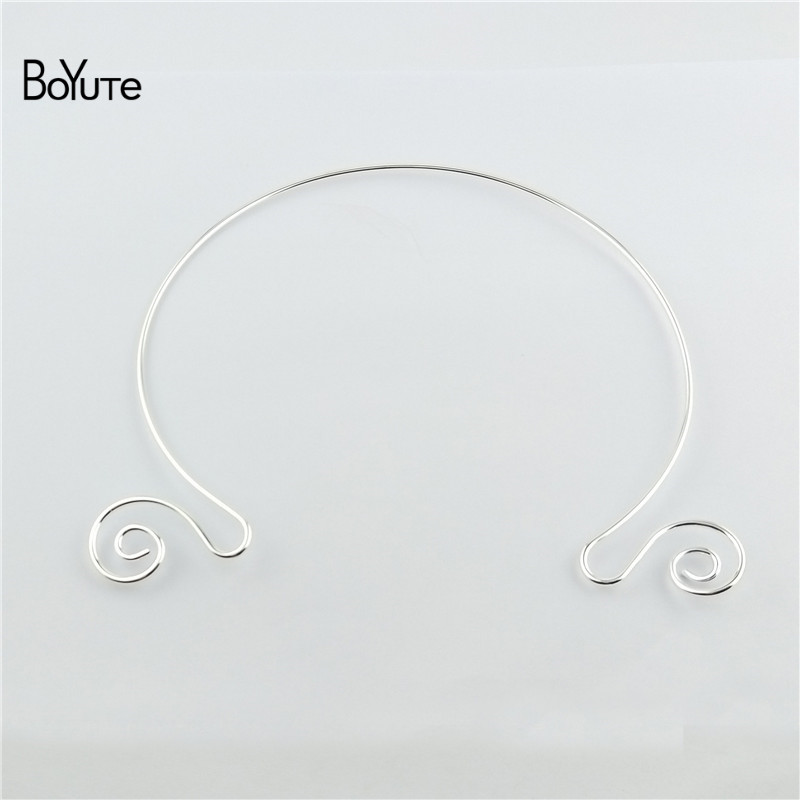 BoYuTe 1552MM Metal Copper Women Wreath Collar Choker Necklace Diy Jewelry Accessories (3)