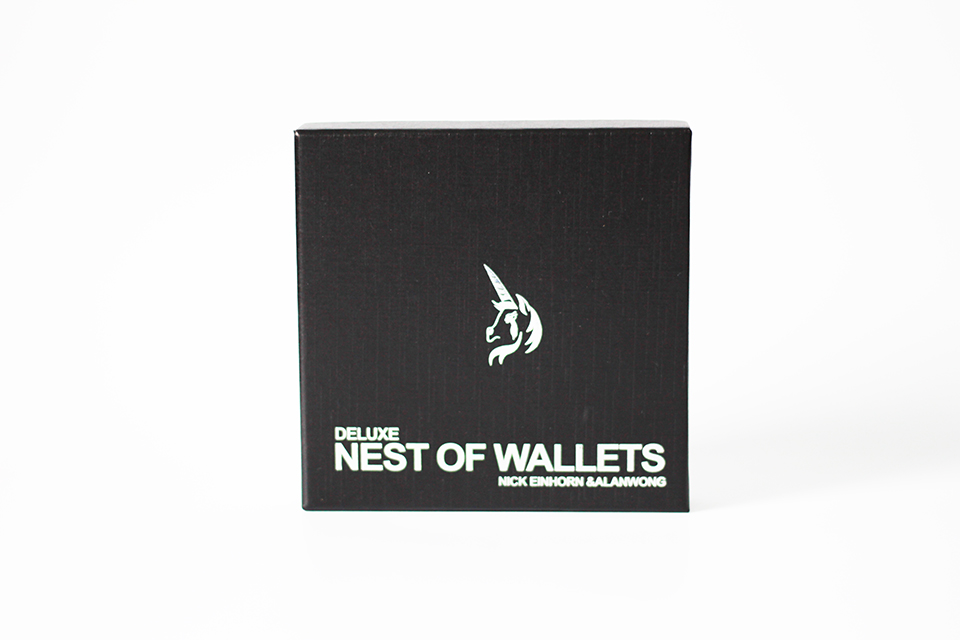 Deluxe Nest Of Wallets (Nesting Wallets) By Nick Einhorn-Magic Trick,Accessories,fire,mentalism,stage,close Up,comedy