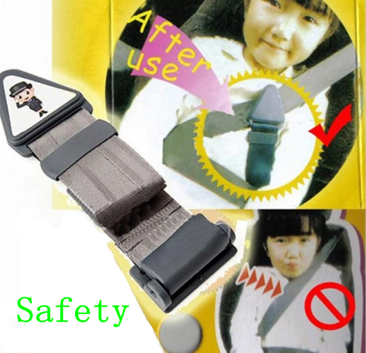 Car Safety Belt Band Securing Strip Seat Belt for Children Kid
