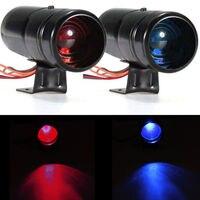 EE destek Evrensel 1000-11000 RPM Siyah Ayarlanabilir Takometre Tako Ölçer Uyarı Shift Işık Kırmızı/Mavi LED Lamba