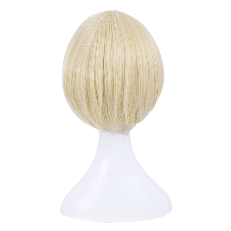 Image 5 - L email wig New YURI!!! on ICE Cosplay Wigs Yuri Katsuki Victor Nikiforov Yuri Plisetsky Short Synthetic Hair Cosplay Wigyuri   -