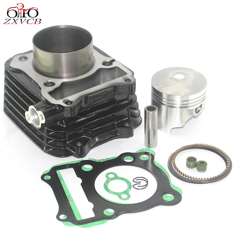 Cylinder Piston Kit 150cc 62mm for Suzuki GN125 EN125 GS125 GZ125 DR125 TU125 GN GS GZ TU DR 125 Piston ring engine image