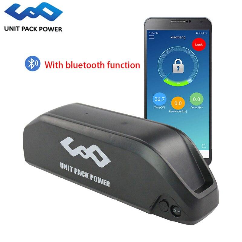 Bluetooth Ebike Battery 52V 17.5Ah 48V 13Ah Hailong Battery 52V 48V Li ion Ebike Shark Battery for 1000W 750W 500W Motor Kits