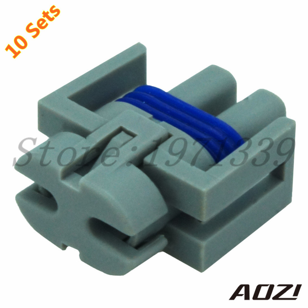 10 Sets 2 Pins 1.5mm Series Electric Auto Wiring Connectors Plugs ...