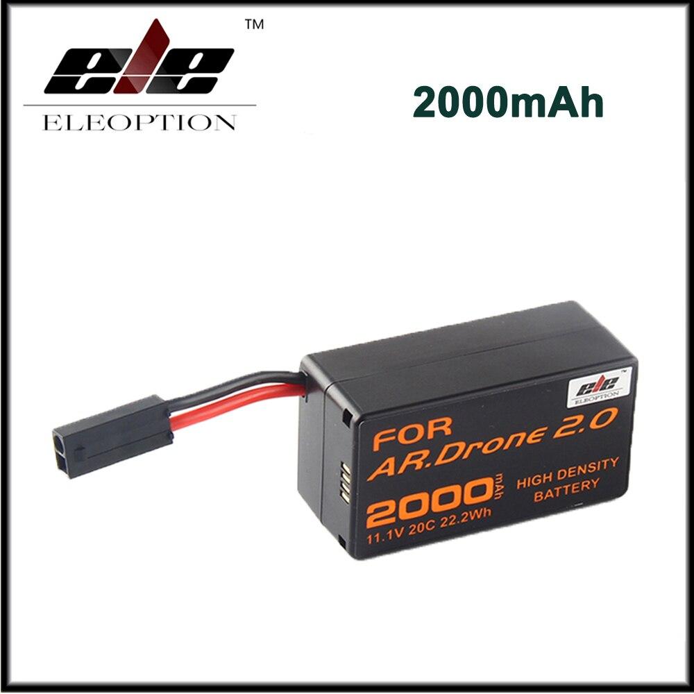 2000 мАч 11.1 В мощный литий-полимерный аккумулятор для Parrot AR. Drone 2.0 <font><b>Quadricopter</b></font> высокая плотность батареи