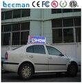 Leeman P5 Taxi display LED P5 Taxi Top outdoor 3 G cor LED sinal de propaganda LED hot novos produtos levou táxi topo