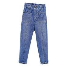 Весенне летние винтажные шаровары для мальчиков женские джинсы