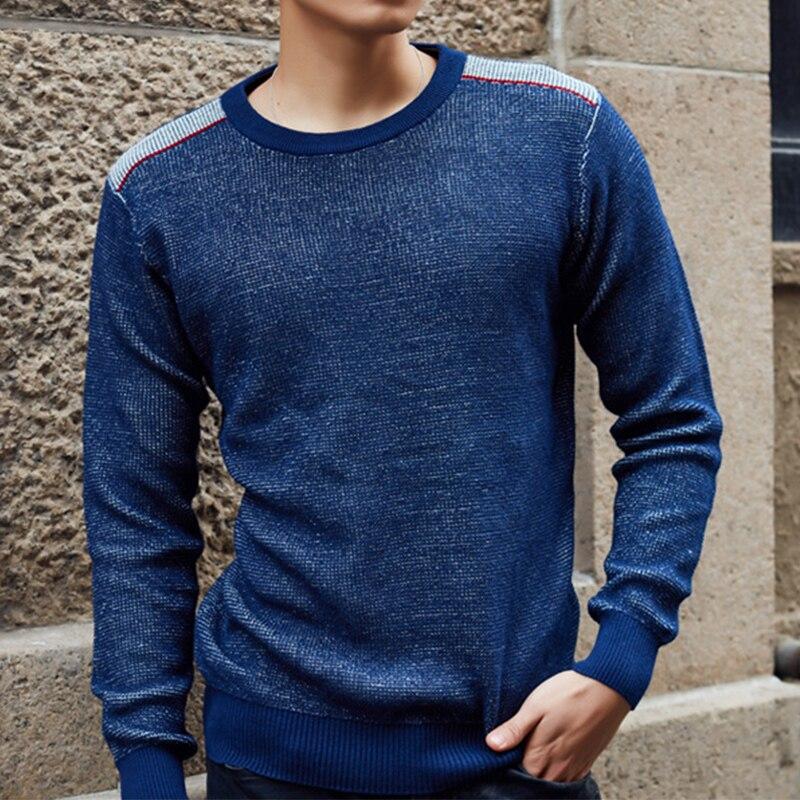 cou hui Hommes À Décontracté Longues Coton Pulls Solide Chandails O Style Vêtements 2017 red Manches Hei Mode blan Tricot Bouton Fit Chandail Nouvelle vWX1p