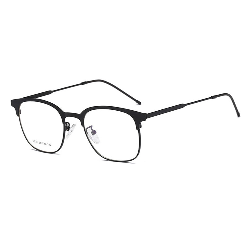 Handoer 6732 Optical Glasses Frame for Men and Women Alloy Eyewear Full Rim Alloy Spectacles Glasses Optical Prescription Frame in Men 39 s Eyewear Frames from Apparel Accessories