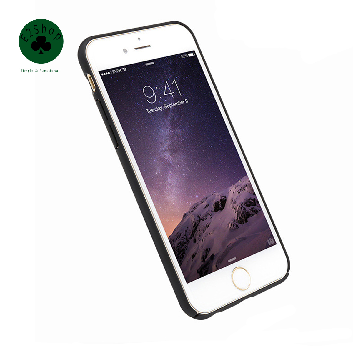 Full Frame Pure Color Matte Plastic Hard Case Mobile Phone Shell Slim Housing Simple PC Back Cover  for iPhone 7 6 6S Plus
