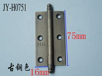 Copper Hinge Hinge Chinese Antique Mahogany Furniture Copper Fittings Concealed Cabinet Hinge Hinge