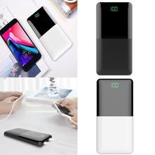 20000mAh Power Bank Portable Mini Digital LCD Display Power Bank External Battery Charger Poverbank  For Xiaomi Samsung iPhone