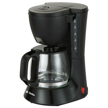 Кнопке, антикапля температуры,функция фильтра, поддержания капельного фильтр, шкала воды, моющийся кофеварка