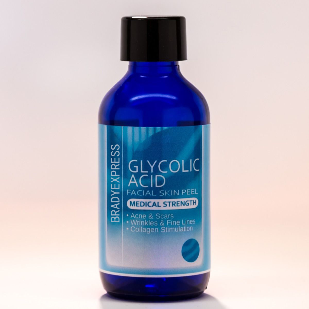 NEW 35% GLYCOLIC ACID Chemical Peel Kit Medical Grade 100% Pure! Acne Scars Wrinkles FREE SHIPPING