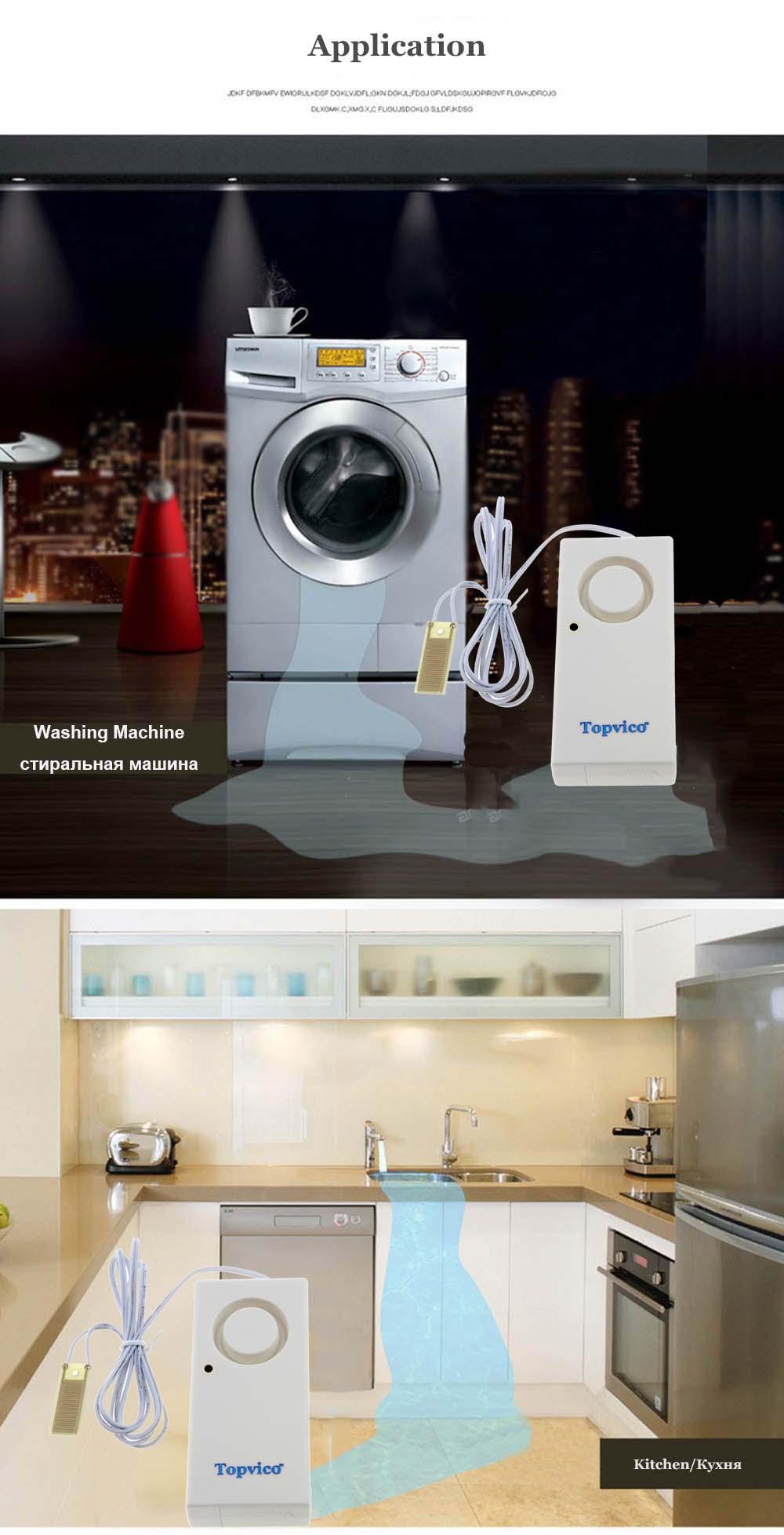 water sensor alarm details