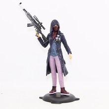 New Type Toy Figure PVC 17cm  PUBG Jane Moedel Girl Action Figure Collecting Fashionable Game Toys цена
