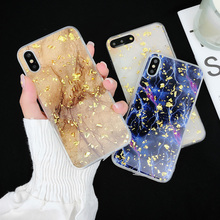 Luxury Gold Foil Bling Marble Phone Cases For iPhone X XS XR Max Soft TPU  Glitter Case Back Cover For iPhone 7 8 6 6s Plus Capa цена и фото