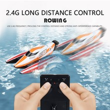 Novelty High Speed RC Boat 2.4GHz 4 Channel 30km/h Racing Remote Control Boat with LCD Screen as Gift For Children Toys цена 2017