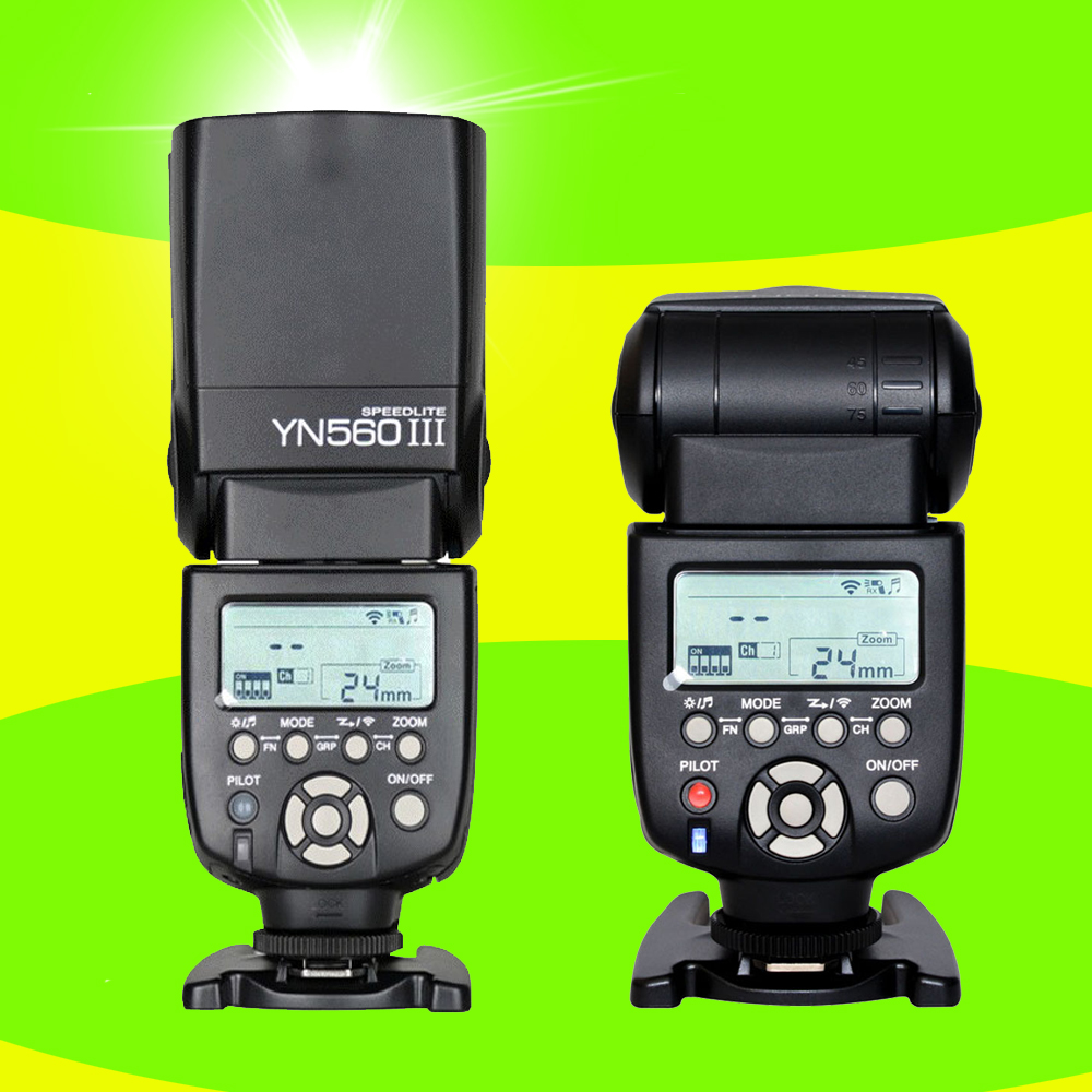 ФОТО YONGNUO YN560 III YN-560 III Wireless Universal Flash Speedlite Speedlight For Canon Nikon Pentax Olympus Panasonic Sony Camera