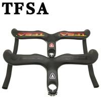 2018T FSAnovel and unique design road bike integrated handlebar / bend handle