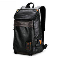 2017 Male Fitness Sporting Backpack Soft Face PU Ipad Storage Bag New College Student Gym Double