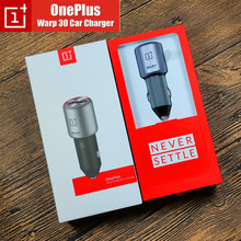Original Oneplus Warp Dash Car charger 30W One plus 7 Pro car charge Fast charging Type C Warp cable For Oneplus 7 Pro 6 6T 5 5T