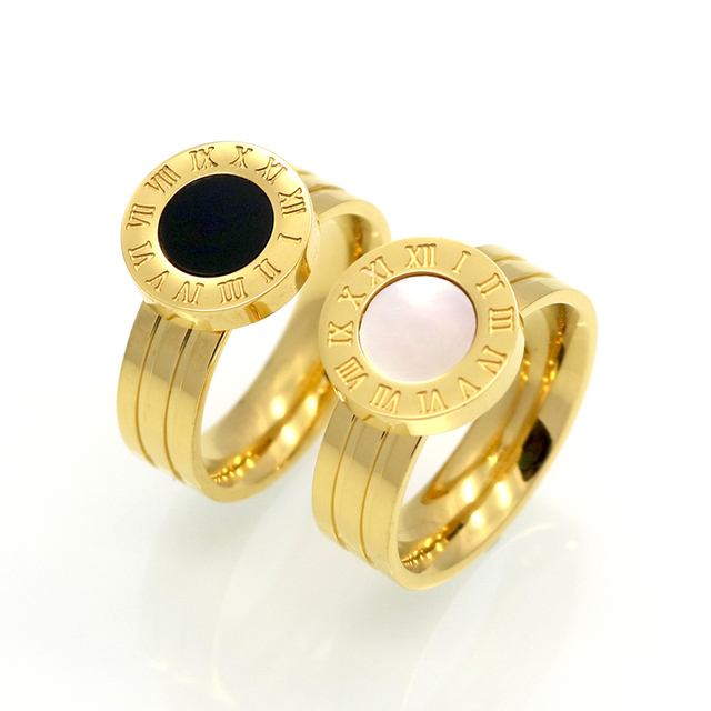 Gold/Rose Gold Plated Stainless Steel Ring