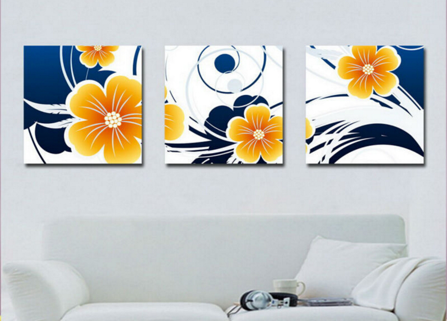 Wall Art Frames popular frame black and white flower canvas wall art-buy cheap