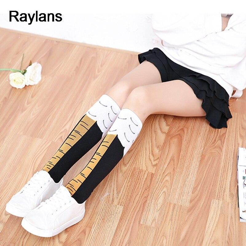 be5a80b7f Raylans New Women Chicken Foot Socks Leg Knee Performance Socks-in Socks  from Underwear   Sleepwears on Aliexpress.com