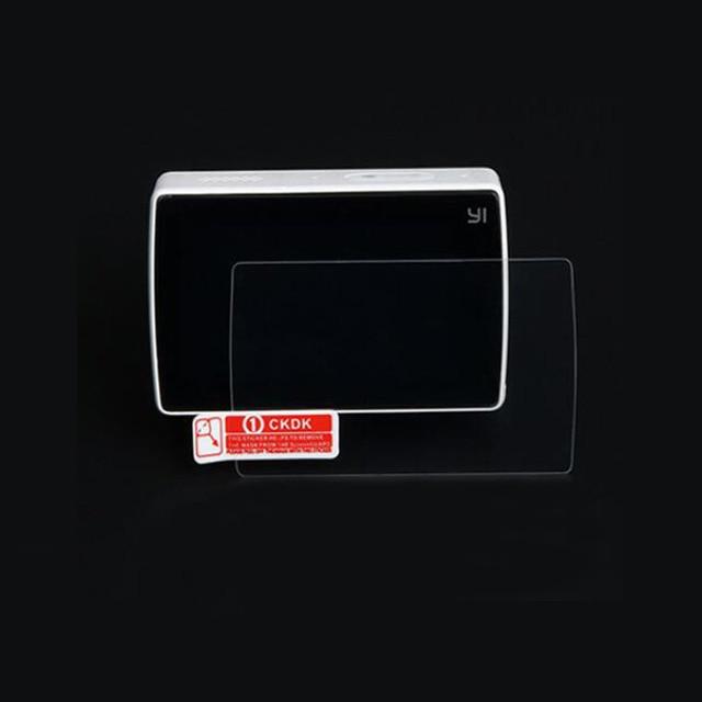 LCD ekran koruyucu Film koruma kapağı için Xiaomi Xiaoyi 2 II YI 4K artı 4K + eylem spor kamera temperli cam koruyucu