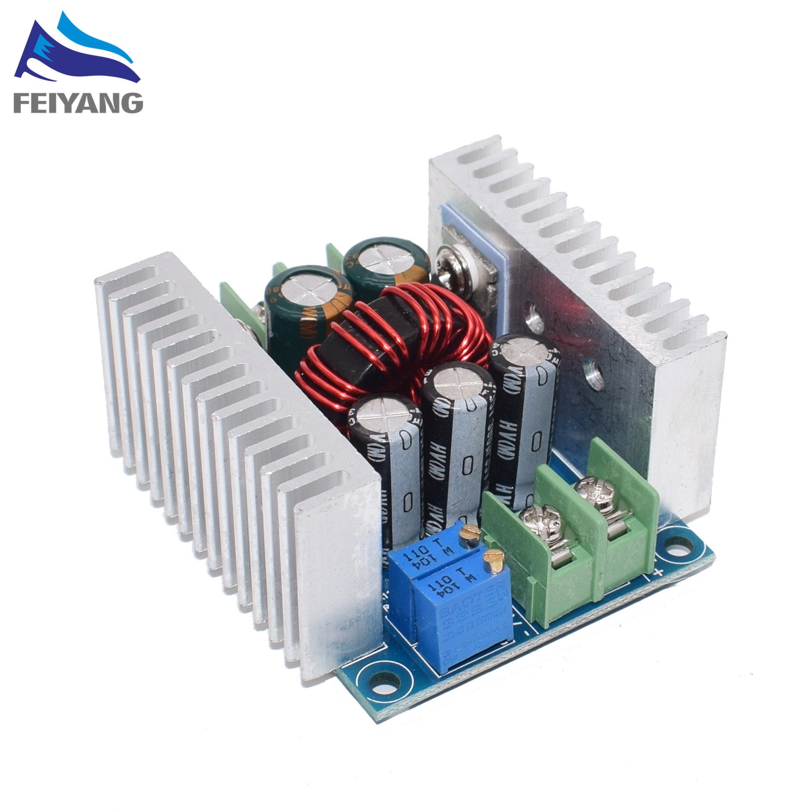 300W 20A DC-DC Buck Converter Step Down Module Constant Current LED Driver Power Step Down Voltage Module Electrolytic Capacitor300W 20A DC-DC Buck Converter Step Down Module Constant Current LED Driver Power Step Down Voltage Module Electrolytic Capacitor