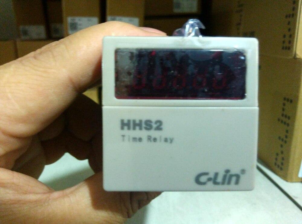 Tout nouveau original authentique c-lin HHS2 (DH48L) minuterie, chronographe AC24V 380 v 220 v
