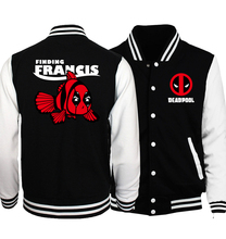 Anime The Flash Fashion Men Jacket Spring Baseball Hoodies
