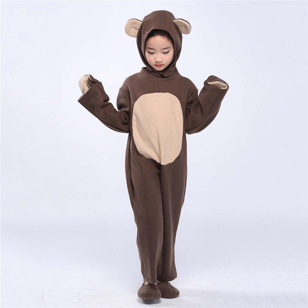 little bear costume toddlers kid brown bear onesies animal costumes
