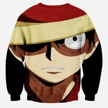 Monkey D Luffy Long sleeve Sweatshirt Pullover