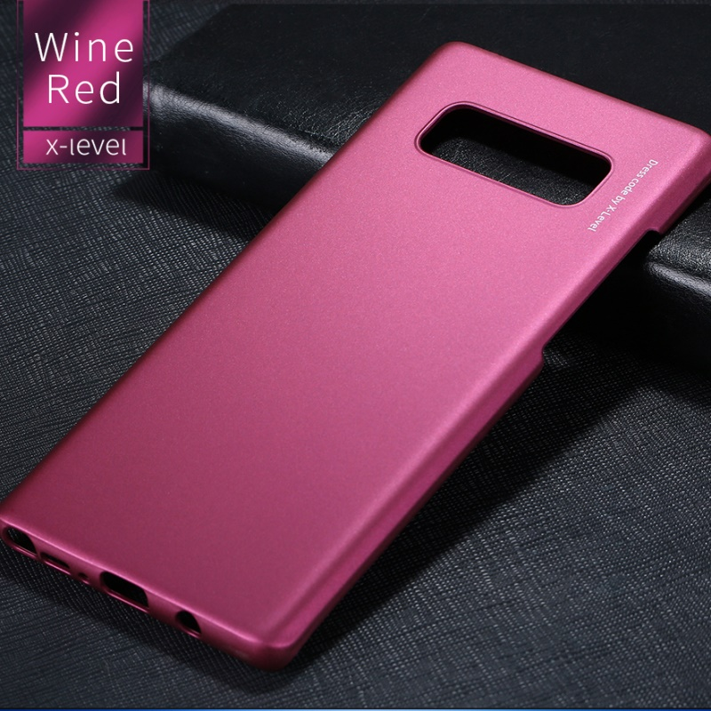 Note 8 Case For Samsung Note 8 Case X-Level Original Knight Phone Case For Samsung Galaxy Note 8 Silky PC Hard Matte Back Cover
