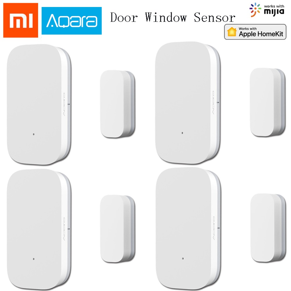 Original Xiaomi Aqara Door Sensor Mijia Smart Home Kit Zigbee Function Work Via Mi Home APP Control Alarm Door Window Sensor