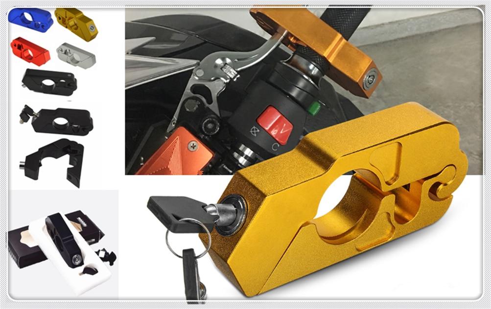 Motorcycle Modified Brake Horn Fixed Lock Handle Burglar For SUZUKI SFV650 GLADIUS SV650 TL1000S 600 750 KATANA