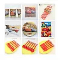 116pcs 58pcs The Princess Paper Cup Plate Napkin For Kids Birthday Party Decoration Children Event Party