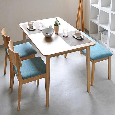 Muebles escandinavos factory outlet 1.2 M larga mesa de comedor mesa ...