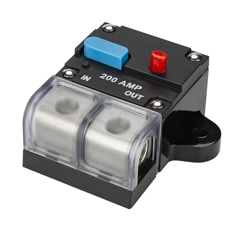 200A Audio Amplifer Circuit Breaker Fuse Holder1