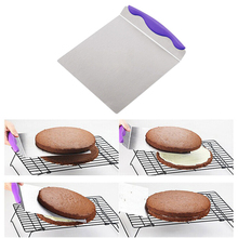 Large Cake Lifter Spatula Server Dessert Bread Pastry Transfer Stainless Steel Pizza Dough Scraper Cutter Baking Shovel
