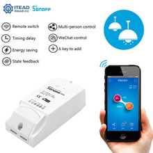 Itead Sonoff Dual 2CH Wifi Smart Switch Wireless Remote Control Timer Switch APP Control for 2 Devices Automation Module DIY цена 2017