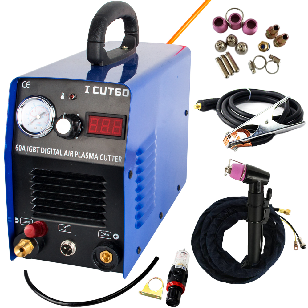Tosense New Factory Direct Sale Plasma Cutting Machine ICUT60P 220V 60A IGBT With WSD60P Consumables Fit Cutting Torch Free PostTosense New Factory Direct Sale Plasma Cutting Machine ICUT60P 220V 60A IGBT With WSD60P Consumables Fit Cutting Torch Free Post
