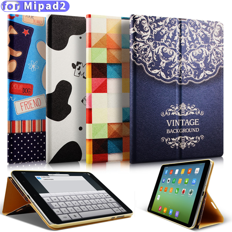 RBP for MiPad 2 case for xiaomi mipad 2 case Cartoon pattern for mipad 3 case 7.9 inch Ultra-thin for xiaomi mi pad 2 cover рюкзак case logic 17 3 inch rbp 217 black