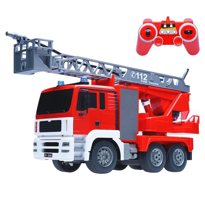 Camion d'ingénierie Flexible de camion de pompier de pulvérisation d'eau d'échelle d'échelle de Simulation amovible