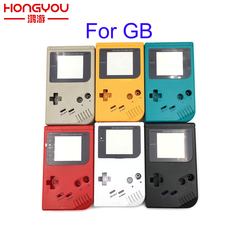 10Sets For <font><b>GB</b></font> <font><b>Case</b></font> For Game Boy Classic Game Replacement <font><b>Case</b></font> Plastic Shell Cover for Nintendo <font><b>GB</b></font> Console housing For <font><b>GB</b></font> <font><b>Case</b></font> image