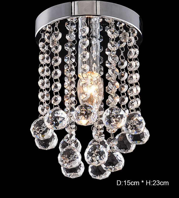 Crystal Ceiling Lights | Round Crystal Chandelier | New Round LED Crystal Ceiling Light For Living Room Indoor Lamp luminaria home decoration Energy sawing up to 80%.